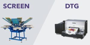 Screen Printing Vs. Digital Printing – Which Is Better